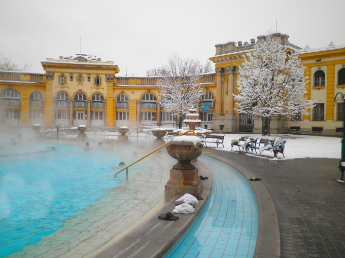 Szechenyi thermal bath in Budapest